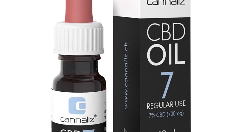 Cannaliz Oil 7% CBD