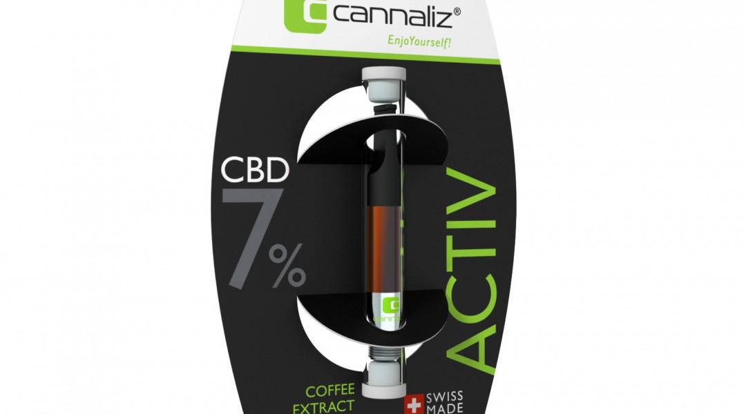 Cannaliz e-liquide ACTIV 7% CBD