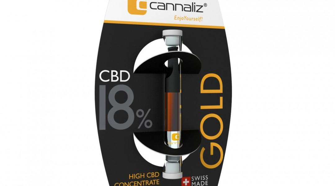 Cannaliz e-liquide GOLD 20% CBD