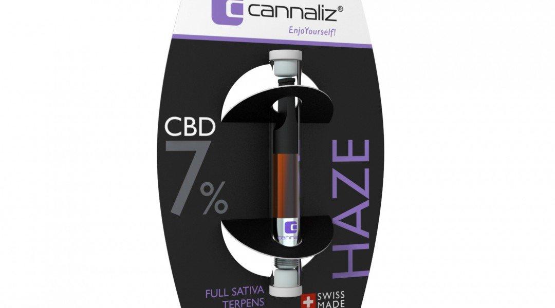 Cannaliz e-liquide HAZE 7% CBD
