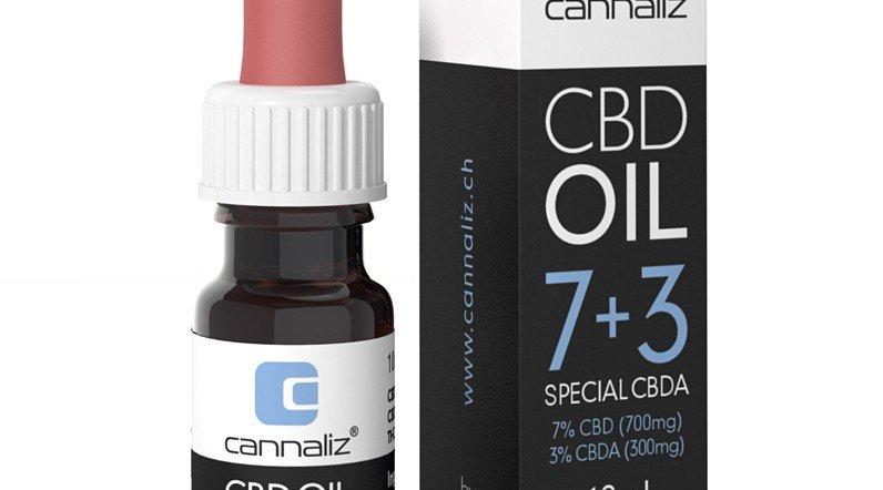 Cannaliz Huile 7% CBD + 3% CBDa