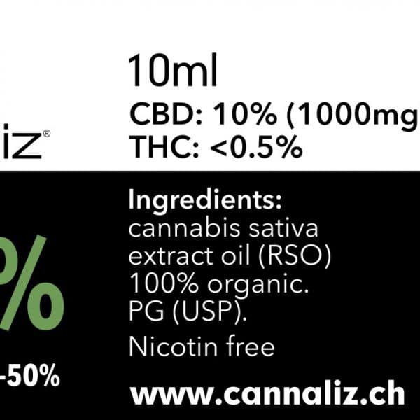 Cannaliz CBD eLiquid DIY